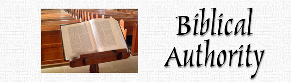 Biblical Authority Header